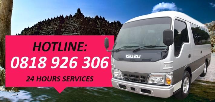 Rental Mobil Elf Bus Pariwisata Jakarta Tangerang Bekasi