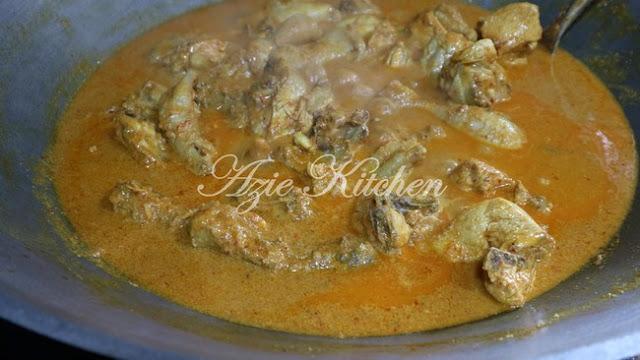 Rendang Pedas Ayam Bonda Mertua Yang Sangat Sedap