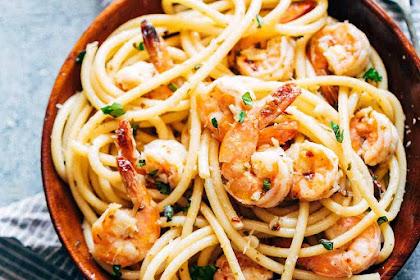Resep Membuat Spaghetti Aglio Olio Enak Mudah