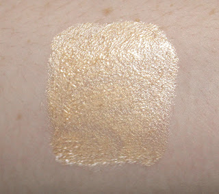 Becca Shimmering Skin Perfector Liquid in Moonstone swatch swatches review