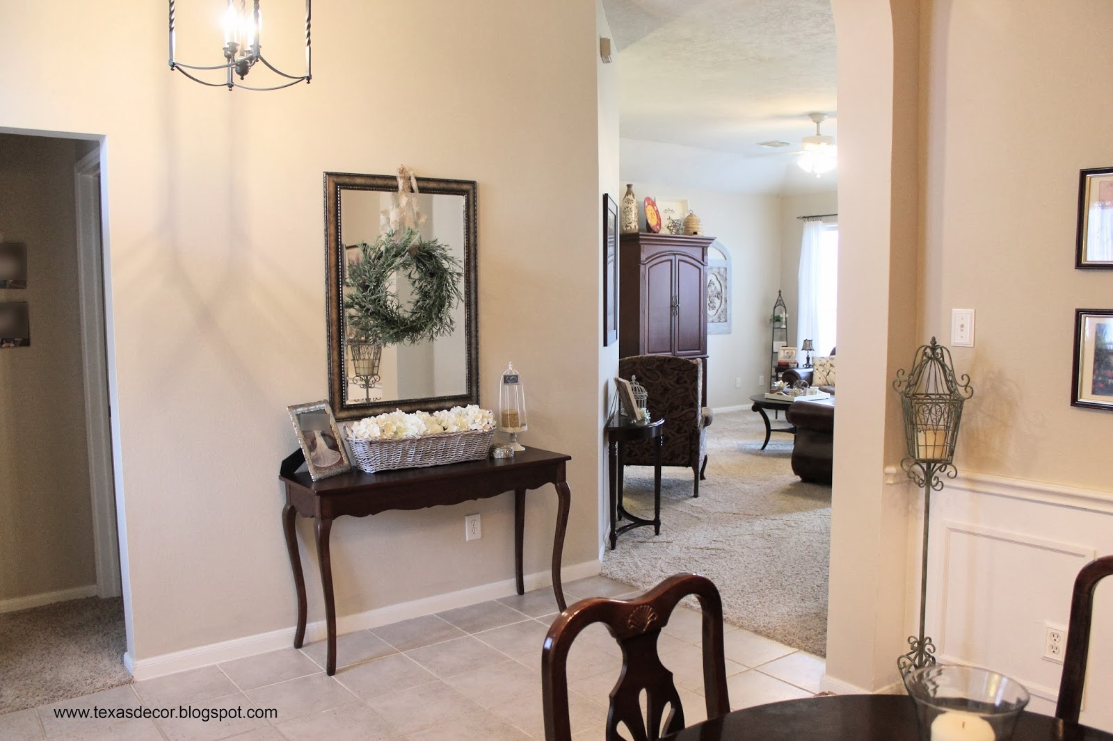 Cream Dining Room Texas Decor The Big Kilim Beige Paint Reveal