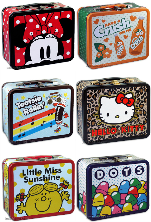 cute metal lunchboxes for kids