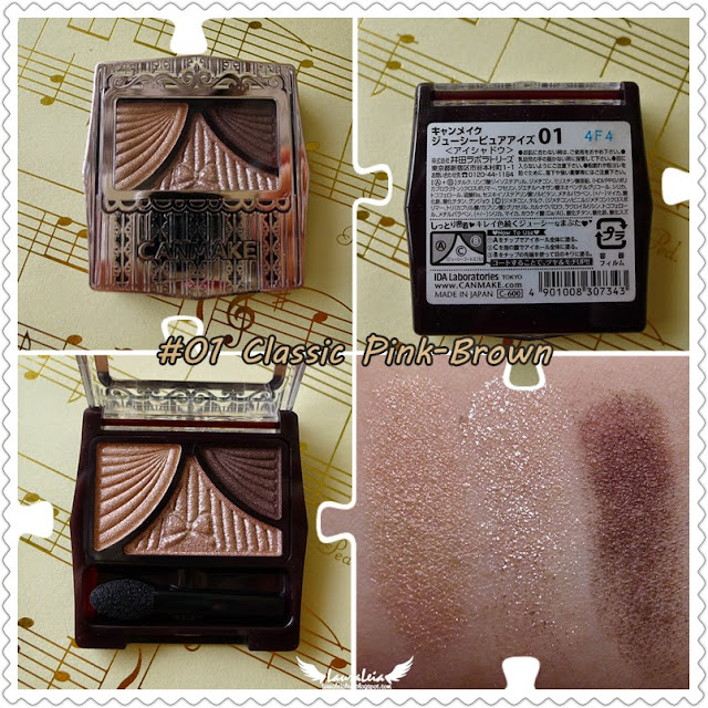 01 Classic Pink-Brown