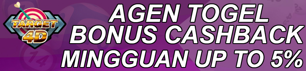 Agen Togel Bonus Cashback Up To 5%