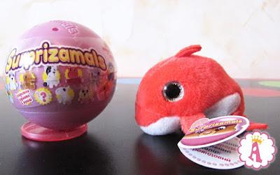 Surprizaballs stuffed animals Dolphin toy обзор шаров сюрпризов