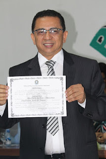 Aclamado pela população Anderson Sousa é diplomado prefeito de Rio Preto da Eva