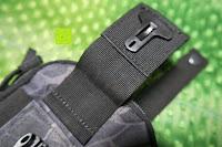 Verschluss öffnen: Greatlizard Außen multifunktionale Nylon taktische Tasche stark und dauerhaft im Freien Armee taktische Taschen (schwarz Python-Muster)