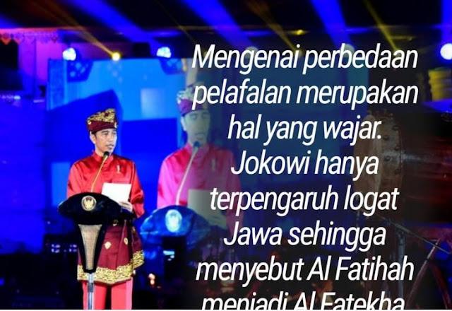 Jokowi Ucapkan Al Fatihah Dengan Pengaruh Logat Jawa