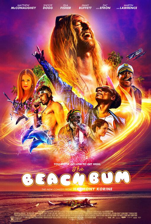 Beach Bum movie poster