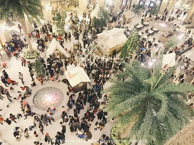 【台北信義區耶誕節】BELLAVITA 寶麗廣場-雪白耶誕造景耶誕快樂~人爆多實錄慎入