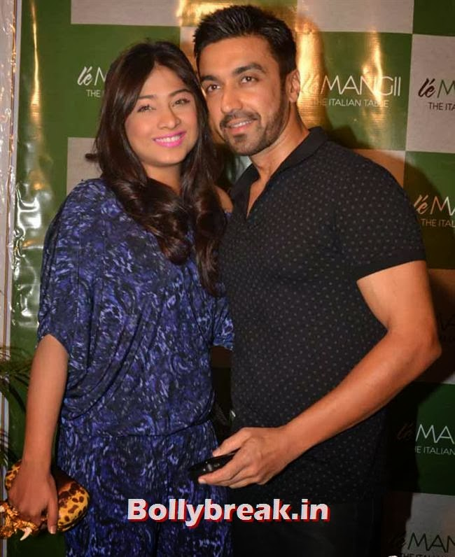 Samita and Ashish Chaudhri at Le Mangii Launch Party