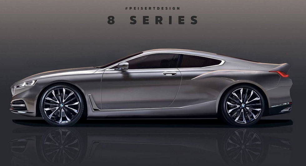 2019 Bmw 8 Series Rendered Concept Debuts Later This Week