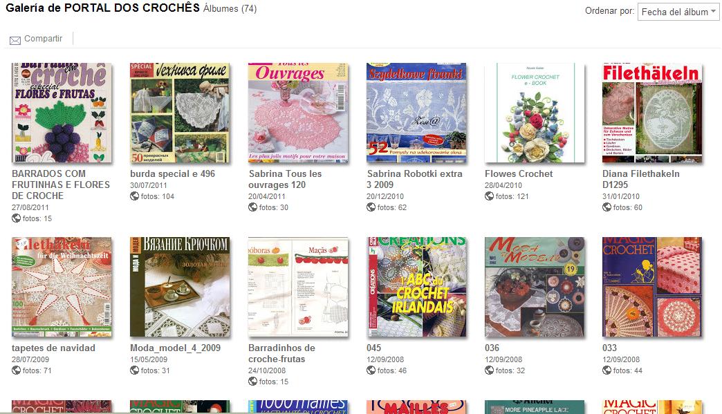 148 Revistas Hogar de Crochet