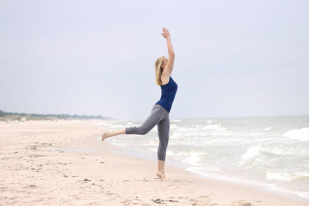 Yoga nad morzem