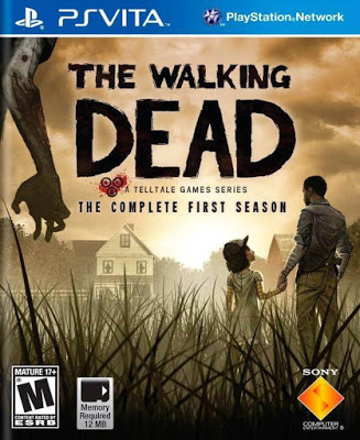 257600 front - The Walking Dead season 1 + 600 days PS VITA