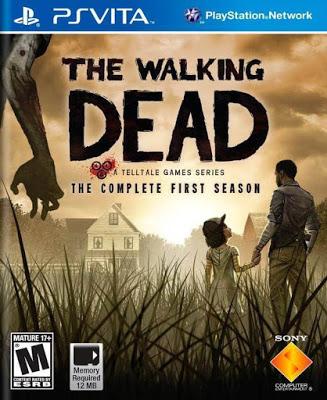 257600 front - The Walking Dead season 1 + 600 days PS VITA
