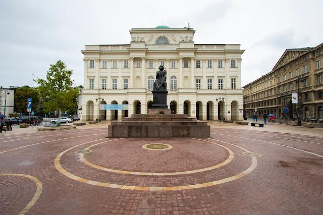 Monumento a Copernico-Varsavia