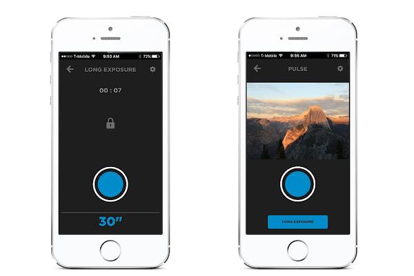 遠端控制機身的 app 介面,數位時代翻攝於 Alpine Labs。