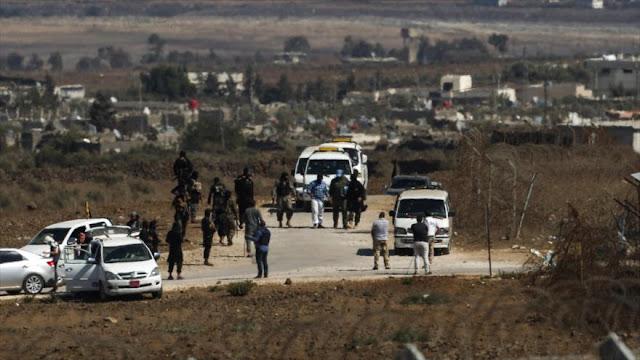 """""""Israel supervisa envío de terroristas a Siria por suelo jordano"""""""