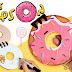 Libreta Dona de los Simpson en foamy o goma eva, Donuts Notebook
