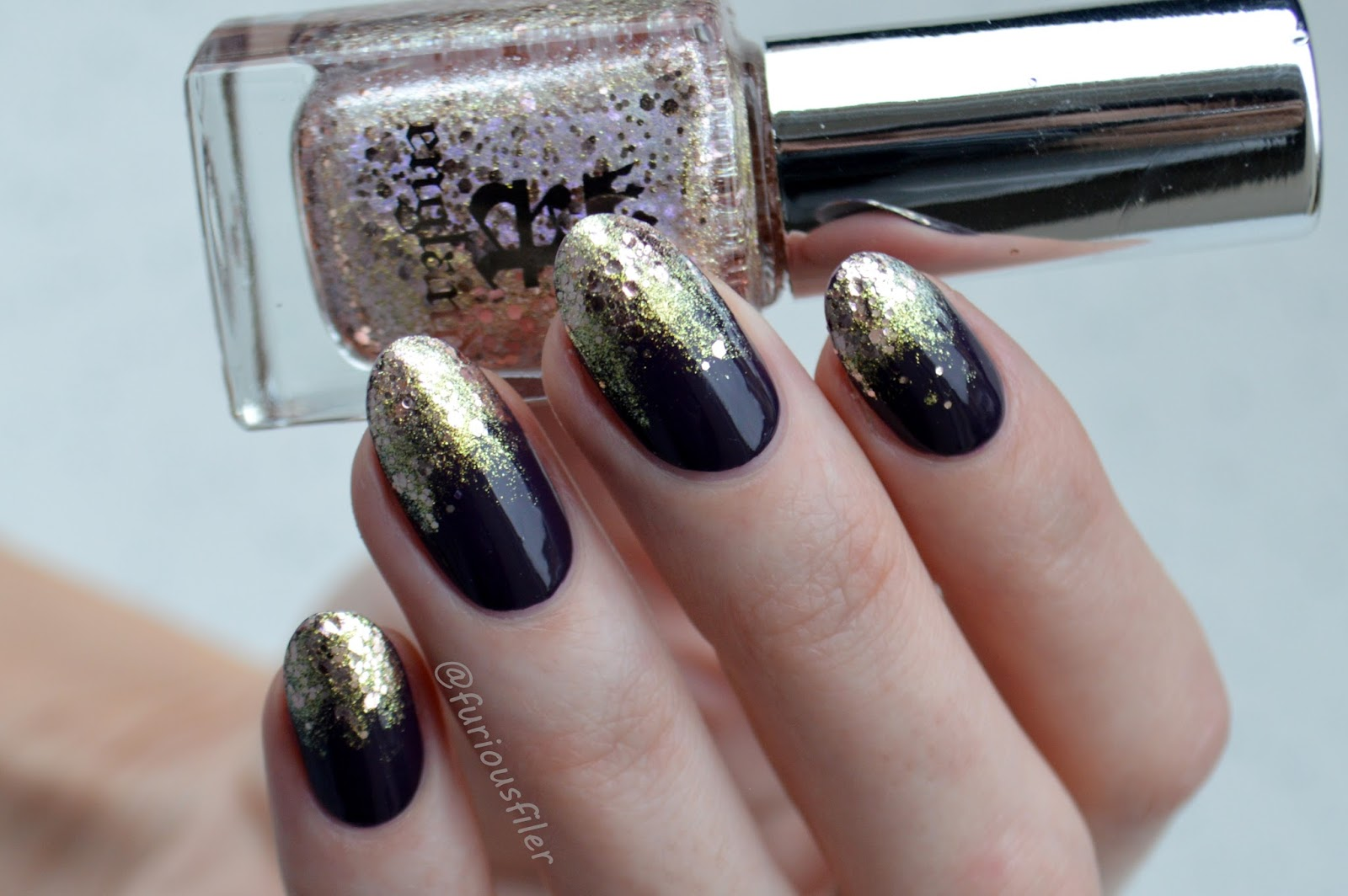 A England Heavenly Layers Nail Art And Review Furious Filer