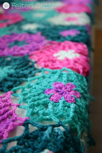 Designing the Haarlem Wrap (Crochet Pattern by Susan Carlson of Felted Button)