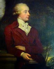 Sir Richard Colt Hoare - a painting at Stourhead