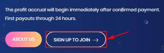 Регистрация в Coinxpw