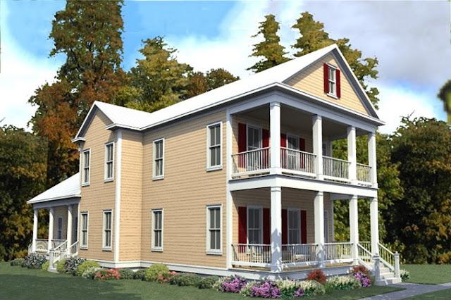 Desain Rumah Kecil Bertingkat Minimalis