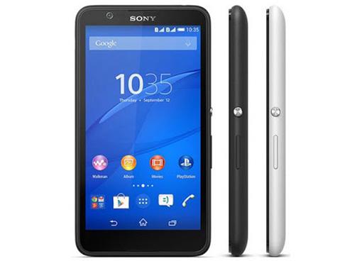 Spesifikasi dan Harga Sony Xperia E4 Dual, Smartphone Android KitKat Kamera 5 MP