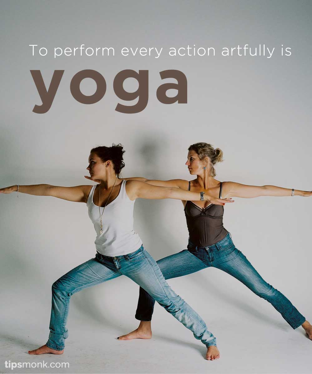Yoga Quotes With Images Of Poses Girls