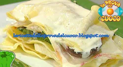 Lasagnetta di tomini barbabietole e cime di rapa ricetta for Cucinare barbabietole