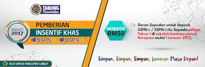 Geran Sepadan RM50 SSPN-i PTPTN