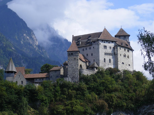 Burg Gutenberg, Liechtenstein. Photographed by Susan Walter. Tour the Loire Valley with a classic car and a private guide.