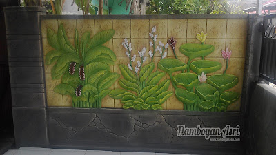 Tukang Taman Surabaya Jasa Pembuatan Batu gobos