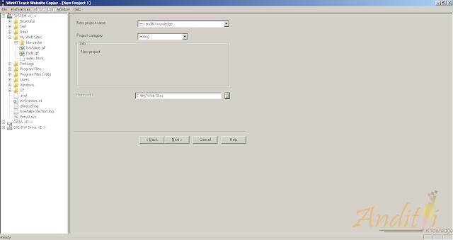Cara Browsing Offline menggunakan semua browser-anditii.web.id