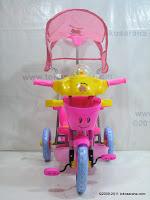 2 Sepeda Roda Tiga Hokiku 7827 Ayam Musik