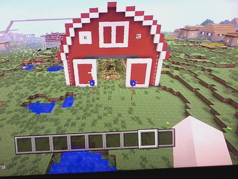My Minecraft on PS3: Big Red Barn