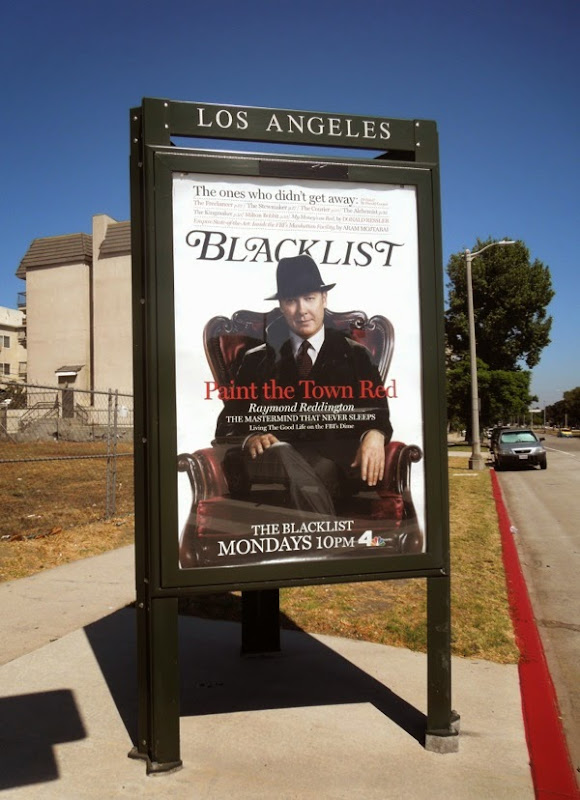 The Blacklist season 2 New York magazine poster