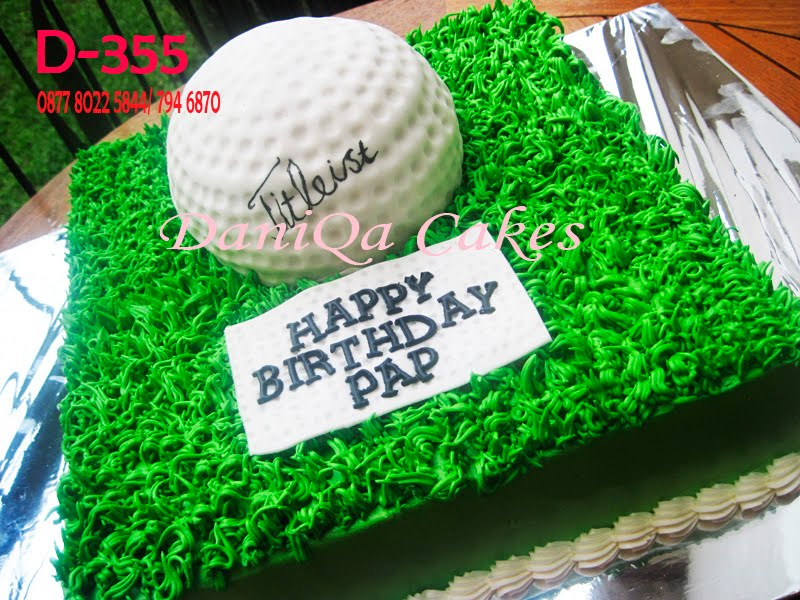 DaniQa Cake and Snack Kue Ulang Tahun Golf