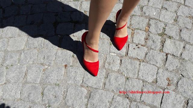 alışveriş, yurtdışı alışveriş, online alışveriş, blog, blogger, sihirlimavi, tbdress, kırmızı ayakkabı, stiletto
