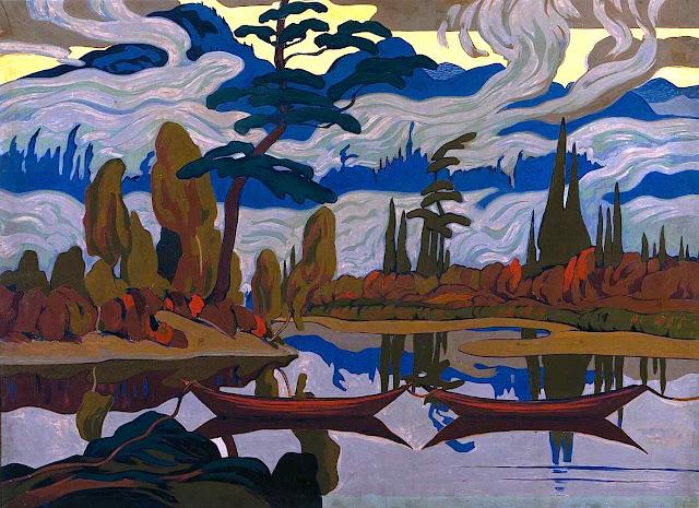 an A.J. Casson landscape, Group of Seven Canada