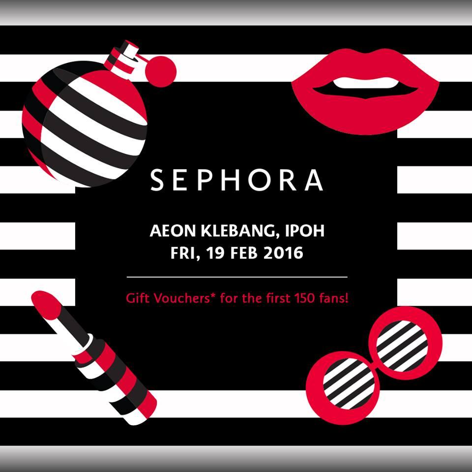 Bestlah Sephora Free Rm100 Gift Voucher 19 Feb