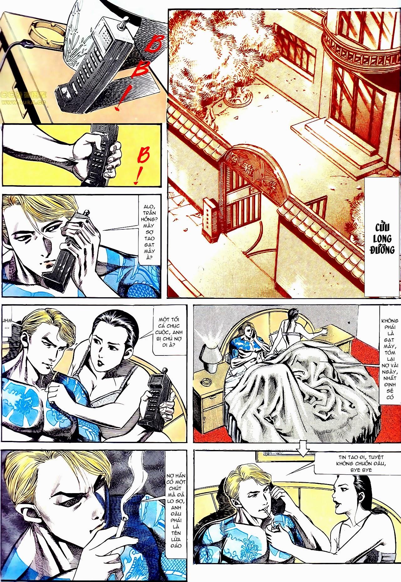 Người Trong Giang Hồ chapter 135: cạm bẫy rình rập trang 15