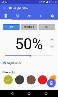 blue light filter تحميل