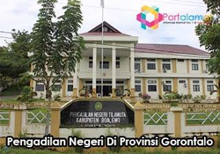 Alamat Pengadilan Negeri Di Gorontalo