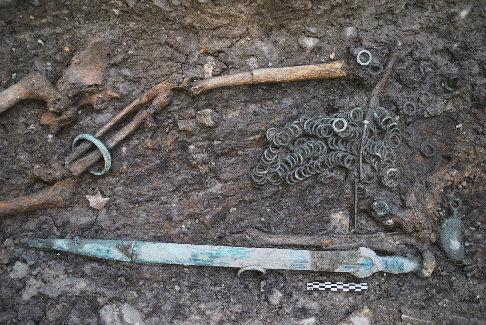 Bronze Age tombs unearthed during car park construction in Switzerland