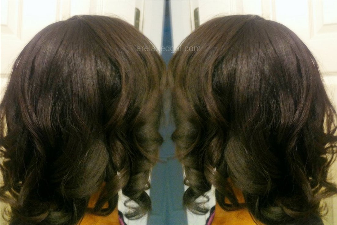 Relaxer touch up results: Second of 2014   arelaxedgal.com