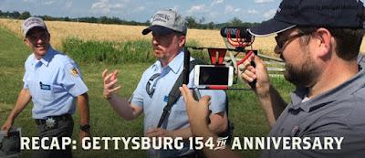 Recap of the 154th Anniversary of Gettysburg!