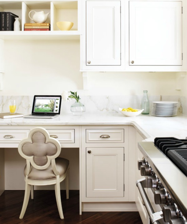 Kitchen Desk Distressed Island Butcher Block Desks Tips For What To Do With Them Driven By Decor Style At Home